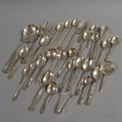 Group of Miscellaneous American Sterling Silver and Silver-handled Flatware