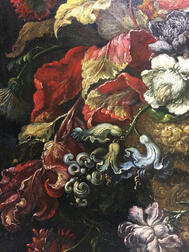 Southern Netherlands School, 17th/18th Century      Ornate Floral Still Life in an Urn