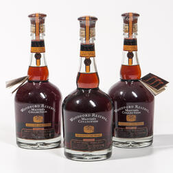 Woodford Reserve Masters Collection Seasoned Oak Finish, 3 750ml bottles