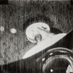 Recorded by a Television Camera Aboard the Surveyor 1 Spacecraft