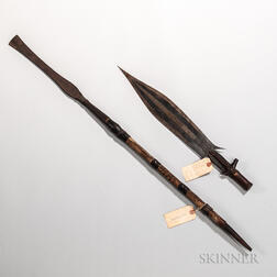 African Sword and Spear