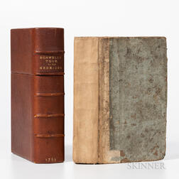 Boswell, James (1740-1795), The Journal of a Tour to the Hebrides.