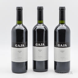 Gaja Sperss 2000, 3 bottles