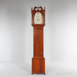 Phinehas Bailey Cherry Tall Clock