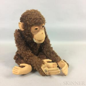 Articulated Mohair Monkey