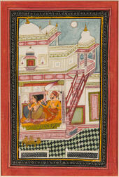 Painting of Varari Ragini from a Ragamala Series