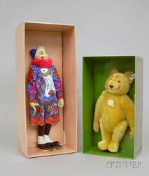 Two Replica Steiff Toys in Boxes
