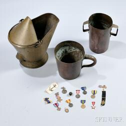 Medals and Objects Associated with Lieutenant Commander Thomas Stowell Phelps, U.S. Navy