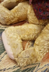Large English Ginger Mohair Teddy Bear