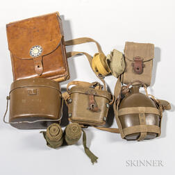 Group of WWII Imperial Japanese Gear