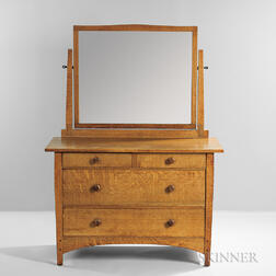 Gustav Stickley Bureau with Mirror