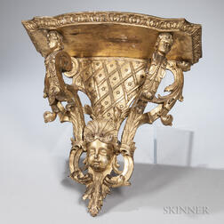 English Giltwood Wall Bracket