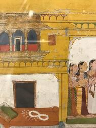Painting of Sita at Ravana