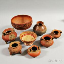 Eight Pre-Columbian Vessels from Costa Rica