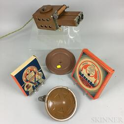 Durotone No. 427 Gift Set with Audio and Visual Toy Projector.     Estimate $20-200