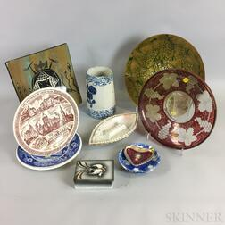 Small Group of Ceramic Decorative Items