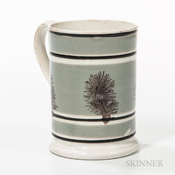 Mocha-decorated Pint Mug