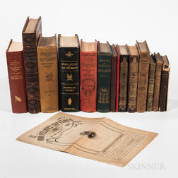 Sixteen Books on Odd Fellows and Fraternal History
