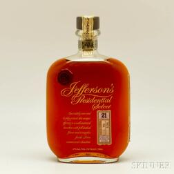 Jefferson's Presidential Select 21 Years Old