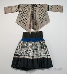 Dong Woman's Jacket and Skirt