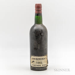 Cockburn Vintage Port 1963, 1 bottle