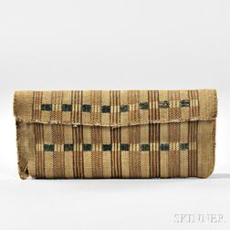 Alaskan Aleutian Island Basketry Wallet