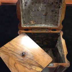 Olive Wood Tea Caddy