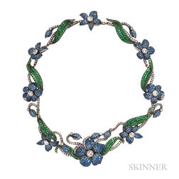 Gem-set Necklace, Evelyn Clothier