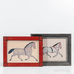 American School, 19th Century      Spotted Horse