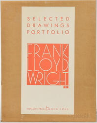 Wright, Frank Lloyd (1867-1959) Selected Drawings Portfolio  , Volume 2 Only.
