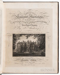 Skelton, John (1783-1871), Skelton's Engraved Illustrations of The Antiquities of Oxfordshire.