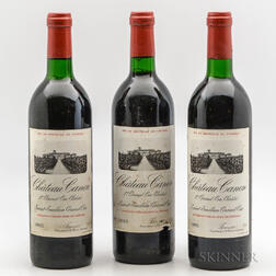 Chateau Canon 1985, 3 bottles