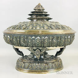 Silver Covered Tureen