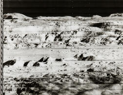 Recorded by a Camera Aboard the Lunar Orbiter 2 Spacecraft