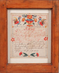Watercolor Fraktur
