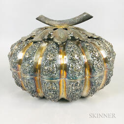 Silver Covered Box