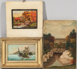 Three New England Oil Landscapes