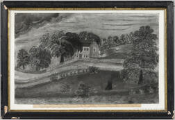 L.J. Elliot (American, Mid-19th Century), Easterly View of the House in Which Count Rumford was Born, in Woburn, Mass., March 26th 1753