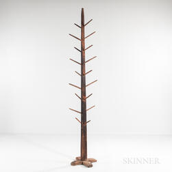 Tall Pine Cross-base Hat Rack