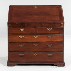George III Mahogany Fall-front Desk