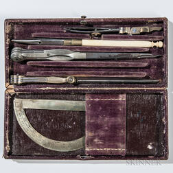 Small Engineer Kit Identified to Captain C.H. Morgan, U.S. Engineers