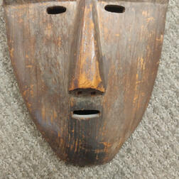 Carved Eskimo Mask