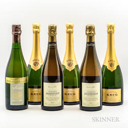 Mixed Non Vintage Champagne, 6 bottles