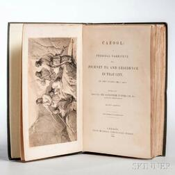 Burnes, Sir Alexander (1805-1841) Cabool: a Personal Narrative of a Journey to, and Residence in that City, in the Years 1836, 7, and 8