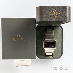 "Omega Constellation ""1602"" Digital Watch"
