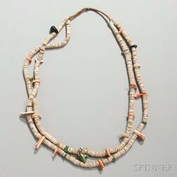 Santo Domingo Heishi Shell Necklace