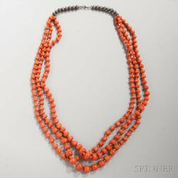Santo Domingo Coral Necklace