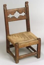 Southwest Wood and Fiber Child's Chair