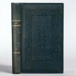Brown, William (1809-1898) New Zealand and its Aborigines.