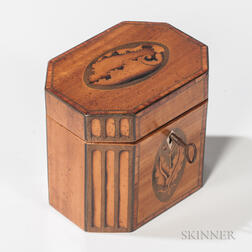 Shell-inlaid Tea Caddy